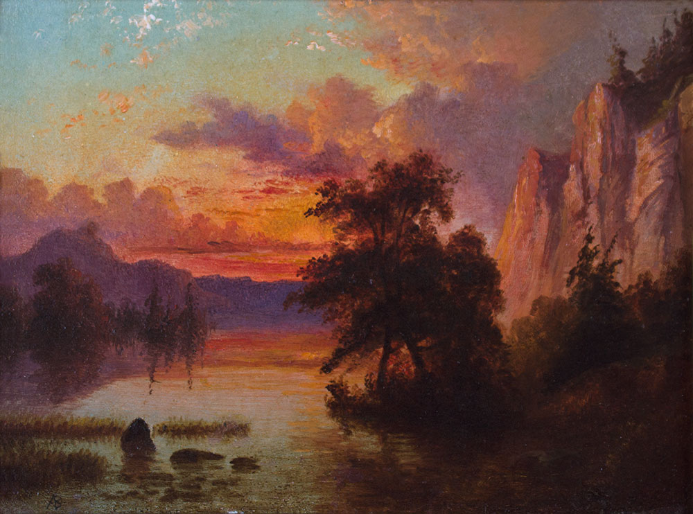 bierstadt-albert-1830-1902-western-landscape-oil-on-paper-mounted-on-board-6-x-8